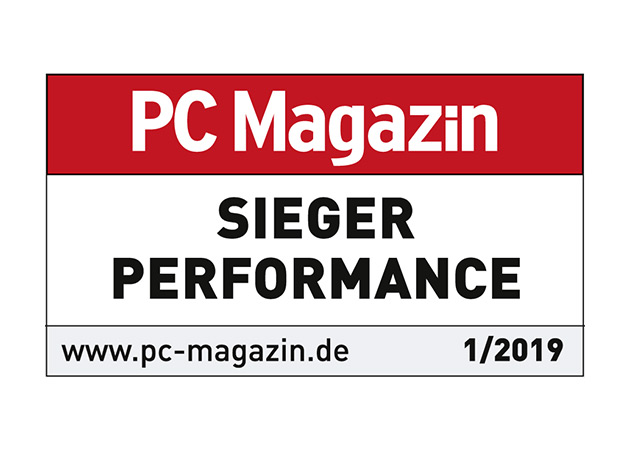 PC Magazin Sieger Performance