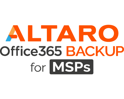 Altaro Office 365 Backup für MSP